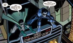 Nightwing: Year One - Jason Todd and Dick Grayson. Question- How did ANYONE vote to kill that baby bird?