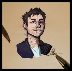 Mr. Damon Albarn by Pulce90.deviantart.com on @deviantART