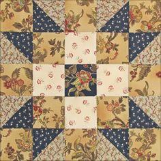 Barbara Brackman's MATERIAL CULTURE: Austen Family Album new blog ** free pattern for 36 weeks**