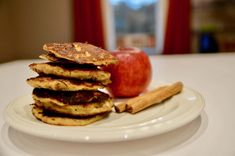 BLW recipes and adventures Banana Egg Pancakes, Banana And Egg, Grain Free, Dairy Free, Gluten Free, Brunch, Baby Led Weaning, Almond Butter, Baby Food Recipes