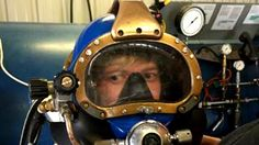 Hunter began his construction career in welding and electricity, but soon found his passion training as an underwater welder at Divers Institute of Tech. Underwater Welding Salary, Career Training, Scuba Girl, Scuba Diving, Commercial, Waves, Trousers, Diving, Wave