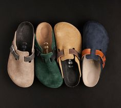 Birkenstock (Boston) - Japan-only Me Too Shoes, Men's Shoes, Shoe Boots, Shoes Sneakers, Clogs Outfit, Birkenstock Outfit, Birkenstock Boston Clog, Fashion Shoes, Fashion Accessories