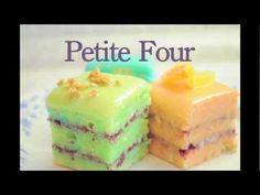 Petit Fours - selber backen, apricotieren & glasieren - klassische Petit Fours - von Kuchenfee - YouTube