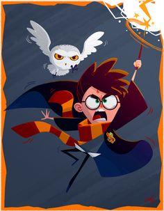 Tom Hänni illustration Harry Potter