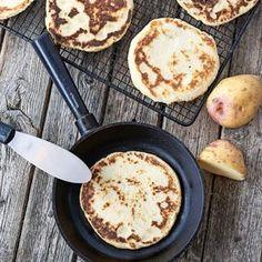 Superenkla lefser är ett fantastiskt gott norskt tunnbröd som gräddas i stekpanna