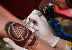 One of the best Linkin Park tattoos! lp