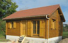 Maison en bois BG44 - 44m2 - Franche Comté