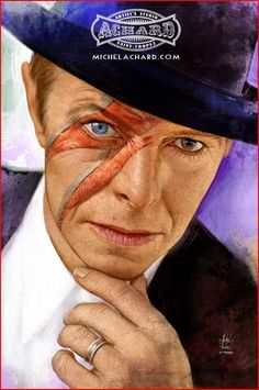 David Bowie, art: