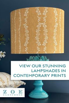 Make the details count with our beautiful lampshades can make an interior space shine brightly. The stunning prints from our Meadowland and Nordic Story collection will work well as ceiling pendants and table lamps. Have a browse through our website for more style options. #zoeglencross #lampshades #naturalfabrics Classic Theme, Natural Candles, Nature Prints, Scandinavian Home, Farmhouse Chic, Beautiful Bedrooms, Lampshades, Natural Linen, Table Lamps