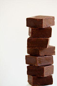 Simple Chocolate Fudge. A Christmas must :)