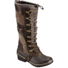 Sorel Conquest Carly Winter Boots and other apparel, accessories and trends. Browse and shop related looks.