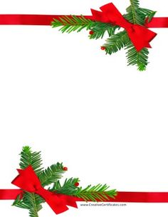 Border with red ribbons for Xmas Christmas Boarders, Free Christmas Borders, Christmas Frames, Merry Christmas Card, Christmas Clipart, Christmas Greeting Cards, Christmas Signs, Christmas Party Favors, Christmas Decorations