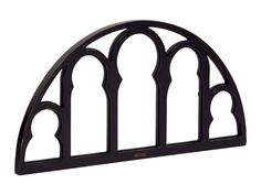 Experience the look of the Charlotte Window Pane with its semicircle shape and open column style cut outs. Its stunning beauty sets off any wall needing emphasized. It comes in Chimney and Jo's White.