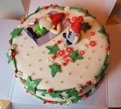 Sokerimuruja : Tontut kesälaitumella -kakku