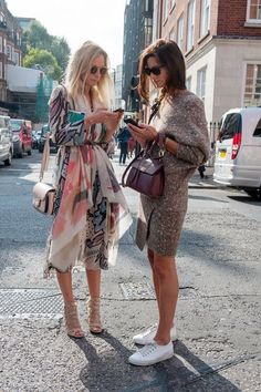 stylish ladies #streetstyle