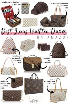 The Best Louis Vuitton Dupes On Amazon - Blush & Camo  Amazon dupes | Louis Vuitton dupes | designer dupes on Amazon | Amazon designer dupes