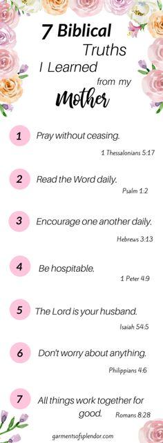 Seven Biblical Truth