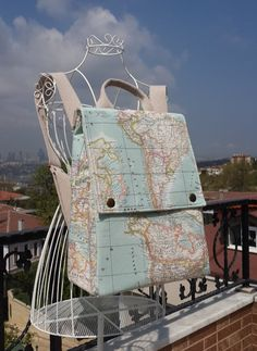 World map prints backpackatlas large backpacktravelschooldaily world map backpack map rucksack mint bag unisex gumiabroncs Image collections