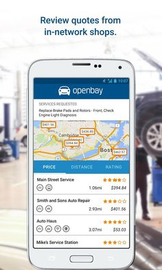 With the Openbay app, you can monitor (and pay for) car repairs from your phone | Drippler - Apps, Games, News, Updates & Accessories