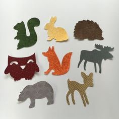 Arte de hierro en apliques tema de animales del por bingecrafter