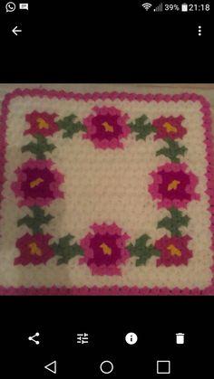 Diy And Crafts, Crochet, Needlepoint, Flowers, Tricot, Breien, Crochet Crop Top, Chrochet, Knitting