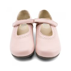Start Rite Delphine - Boni Classic Delphine is a girls shoe from our Start-rite English Classics range. Made from premium dyed-through leather and fully leather lined these pretty shoes with their decorative perforated detail feature a single bar closure with a riptape fastener.