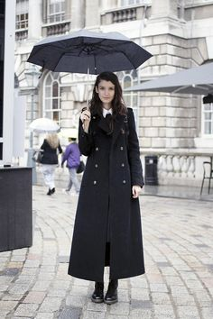 Long Coat- very British!