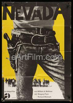 Yellow Sky-Gregory Peck-Anne Baxter-Richard Widmark-German A1-R62
