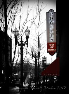 Portland Oregon Photography Powell's by ThePDXPhotographer on Etsy