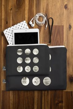 Elisabeth Fredriksson Moons Pouch | DENY Designs Home Accessories