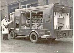 Co-op mobile shop 1930's