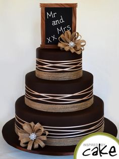 Chocolate Country Charm - Cake by Inspired by Cake - Vanessa