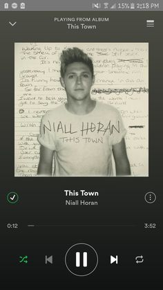 Niall Horan has finally gone solo!! What a good job Niall! We are all so proud of you doing what ever you want! This town is such amazing song that every person has it on repeat. #niallhoran #thistown
