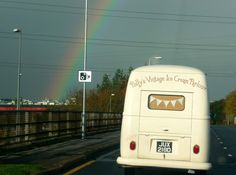 Florence our VW ice cream camper off to the NEC Classic Car Show this morning ♡ wedding hire http://www.pollys-parlour.co.uk/