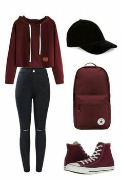 42 Ideas for clothes for teens girls swag fall outfits Teenager Outfits That Will Make You Look Great Teenage Girl Outfits, Teen Fashion Outfits, Teenager Outfits, Mode Outfits, Fashion Ideas, Cute Outfits For Girls, Tween Fashion, Fashion Black, Clothes For Teenage Girls