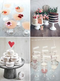 I would love all of these things! Maybe we need a nice table for the dessert bar?