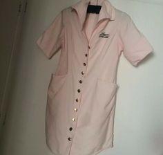 Rare! Agent Provocateur Pink Uniform Dress UK size 10  Longer length dress · $155.00 Agent Provocateur, Festool Sander, Uniform Dress, Size 14 Dresses, Chef Jackets, Pink, Size 10, Coat, Fashion