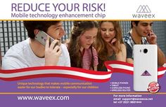 Reduce you risk with WaveexSA WAVEEX makes the mobile radiation easier for our bodies to tolerate. There is scientific and medical proof of the positive effects of WAVEEX Scientifically verified facts-  WAVEEX levels out the peaks of magnetic fields WAVEEX prevents changes in one's blood profile WAVEEX lowers the body's stress level