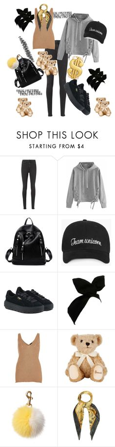"""Bez naslova #90"" by taylor-249 ❤ liked on Polyvore featuring interior, interiors, interior design, home, home decor, interior decorating, rag & bone, WithChic, Puma and River Island"