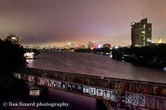 Boston viewed from the BU Bridge. (c) Lisa Linard Photography.