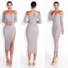 A JLUXXCLUSVE -- The VEE Dress // ur fav now available in other colors