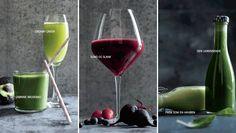 """Her får du 5 skønne juice-opskrifter der er udviklet af Zennie & Martin Bonde Mogensen, forfatterne bag bogen """"Den fedeste juicekur""""."""