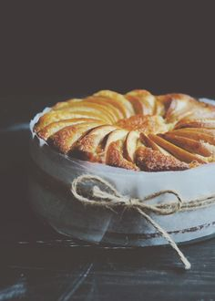 Lemon Yoghurt Apple Cake with Lemongrass + Ginger Syrup | Iron Chef Shellie