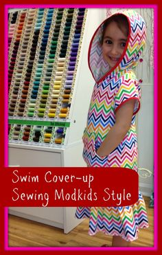 DIY Swim Cover-up   Modkids pattern review