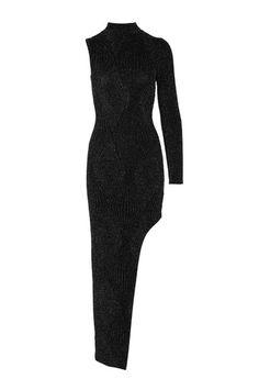 Black+Asymmetric+Dress #TALLYWEIJL