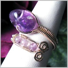 Woven Adjustable Ring | JewelryLessons.com