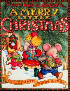 """A Merry Little Christmas"" Paperback Book by Mary Engelbreit"
