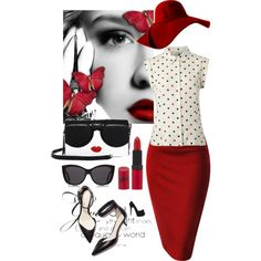 Untitled #232 by jovana-p-com on Polyvore featuring Hobbs, Alice + Olivia, Le Specs, Rimmel and 3.1 Phillip Lim