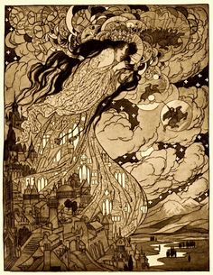 Sidney Sime - Lord Dunsany Illustrations (1908 - 1912)