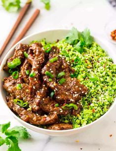 Healthy Beef And Broccoli, Healthy Beef Recipes, Broccoli Rice, Low Carb Recipes, Delicious Recipes, Vegetable Soup Recipes, Food Network Recipes, Meal Prep, Healthy Eating